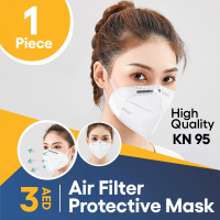 1 Piece High Quality Kn95 Five layers Air Filter Protective Mask