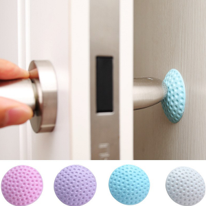 Wall Sticking Door Protector and Silencer - Multicolors