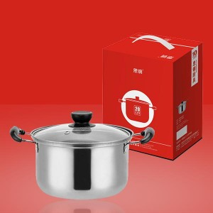Stainless Steel One Pieces High Quality Kitchen Pots - Silver