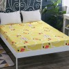 Printed Fitted Bed Sheet With Elastic Band - Ducks