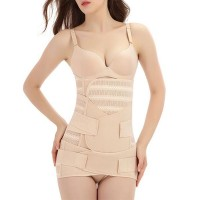 Best Slim Maternal Body Shaping Waist Belt - Beige