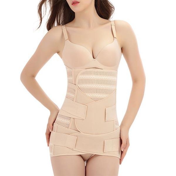 Best Slim Maternal Body Shaping Waist Belt - Beige