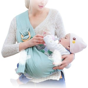 Lightweight Adjustable Belt Newborn Baby Carrier - Blue