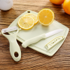 Fine Quality Fruit Peeler And Cutter Tools Set - Green
