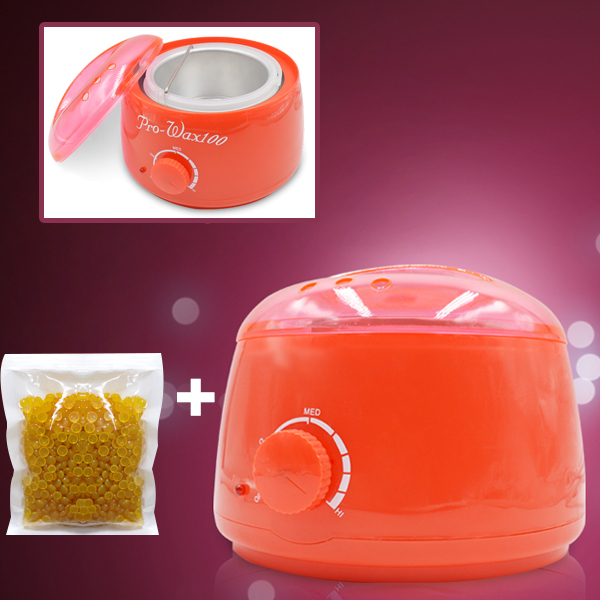 Wax Heater Electric Machine With Free WAX Beans - Orange