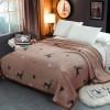 Animal Prints High Quality Thin Blanket - Brown