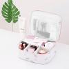 Multi Pockets Waterproof Travel Bags - White