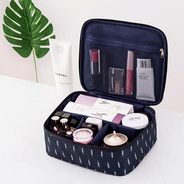 Multi Pockets Waterproof Travel Bags - Dark Blue