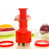 Quality Handy Manual Vegetable Chopper - Red