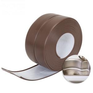 Anti Leakage PVC Corner Adjustable Tape - Brown