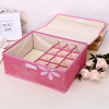 Printed Multipurpose Garments Storage - Pink
