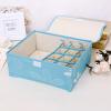 Printed Multipurpose Garments Storage - Blue
