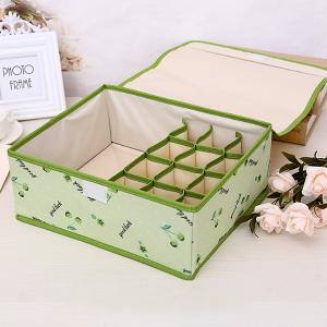 Printed Multipurpose Garments Storage - Green
