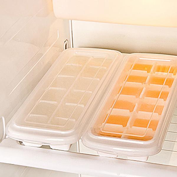 12 Cubical Ice Storage Freezer Tray