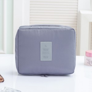 Traveller Safety Mini Cosmetics Bags - Grey