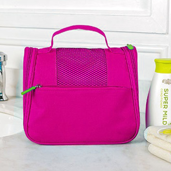Canvas Cosmetics Traveller Mini Bags - Hot Pink