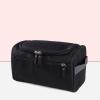 Multi Pockets Canvas Cosmetics Mini Bags - Black