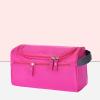 Multi Pockets Canvas Cosmetics Mini Bags - Pink