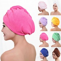Microfiber Shower Hair Drying  Lady Bath Soft  Cap Towel