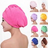 Microfiber Shower Hair Drying  Lady Bath Soft  Cap Towel