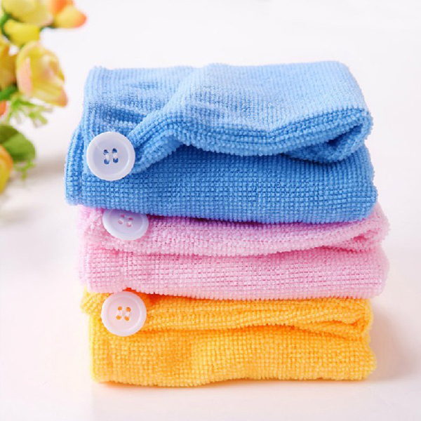 After Shower Hair Drying Cap Towels
