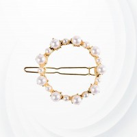 Pearl Decorated Fancy Head Wear Hair Clips - Sphere