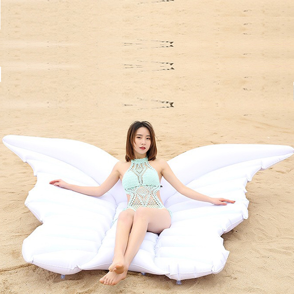 White Butterfly Giant Adult Swimming Floater