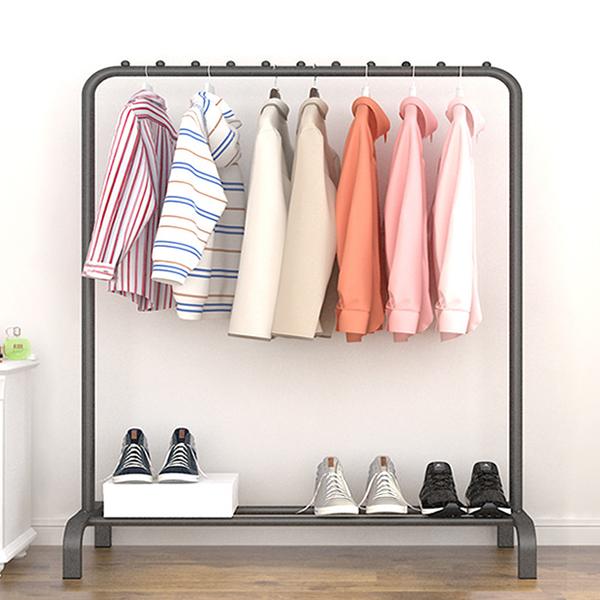 Multipurpose Clothes Smart Organizer Rack - Black