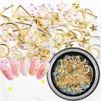 Nail Art Decoration Special Crystal Sequins Set