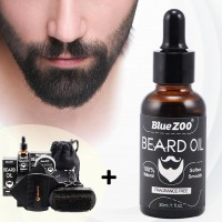 Special Quick Beard Mustache Grower Oil Complete Set