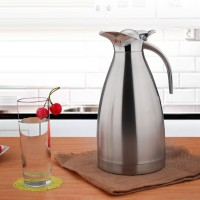 Stainless Steel 2 Litre Tea Coffee Warm Bottle