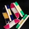 Six Pieces Colorful Multipurpose Cleaning Brushes Set