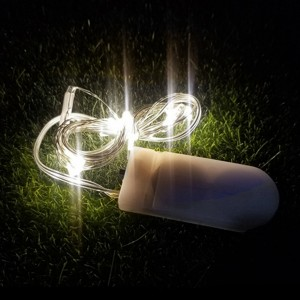 Happy Easter Easy Portable LED Lights One Meter - White