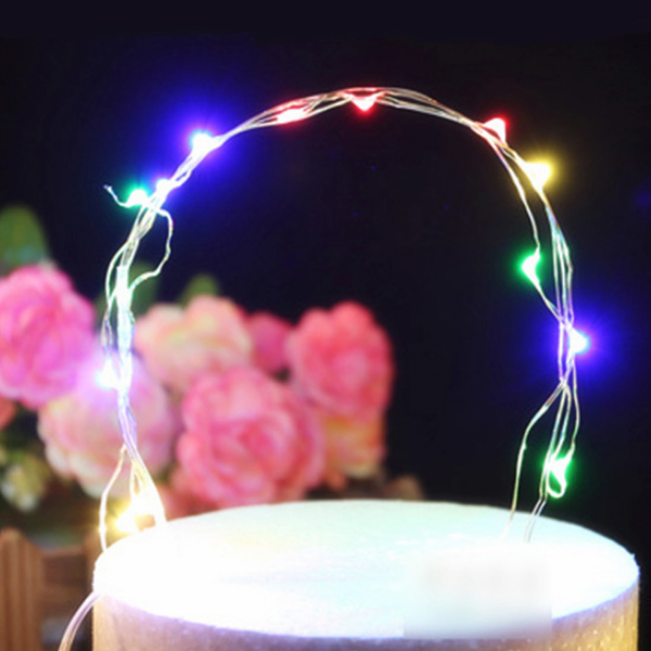Happy Easter Easy Portable LED Lights Two Meter - White
