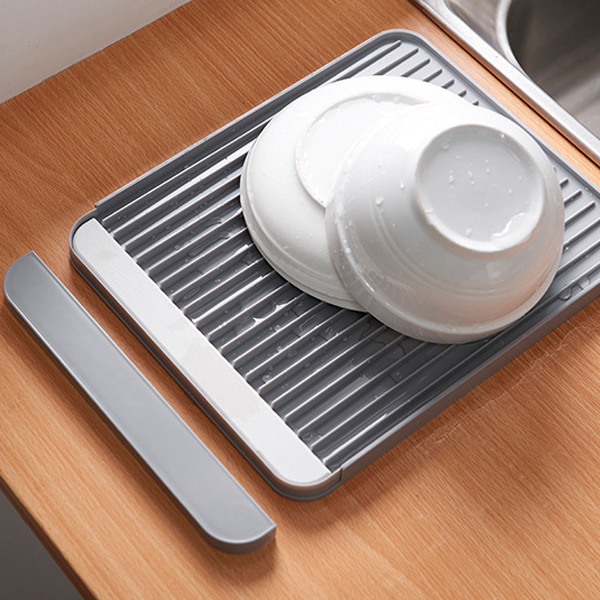 Dish Drying Creative Kitchen Essentials Tool - Grey