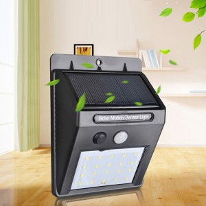 Solar Rechargeable Outdoor Waterproof Lamp - 20 LED