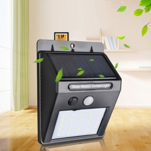 Solar Rechargeable Outdoor Waterproof Lamp - 30 LED