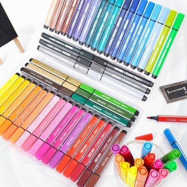 48 Colors High Quality Non Toxic Drawing Art Pen Set