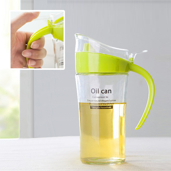 High Quality Plastic Oil Kitchen Bottle