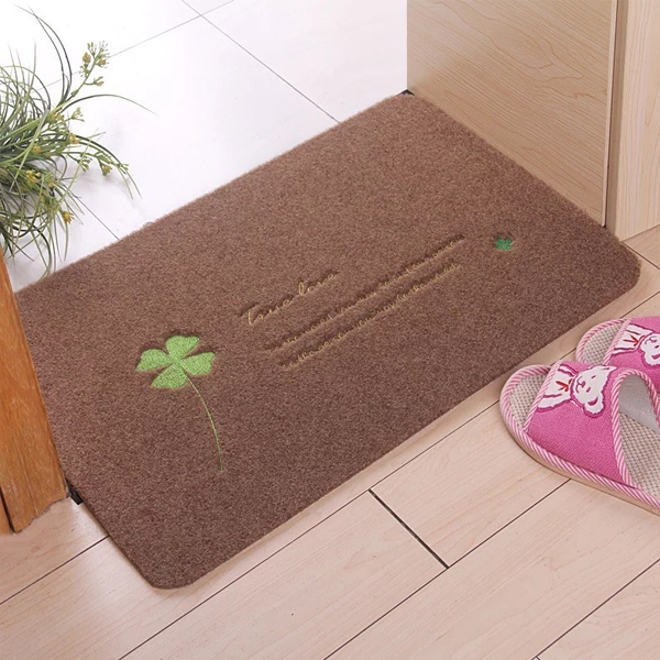 Anti Bacteria Fine Mesh Door Mats - Brown