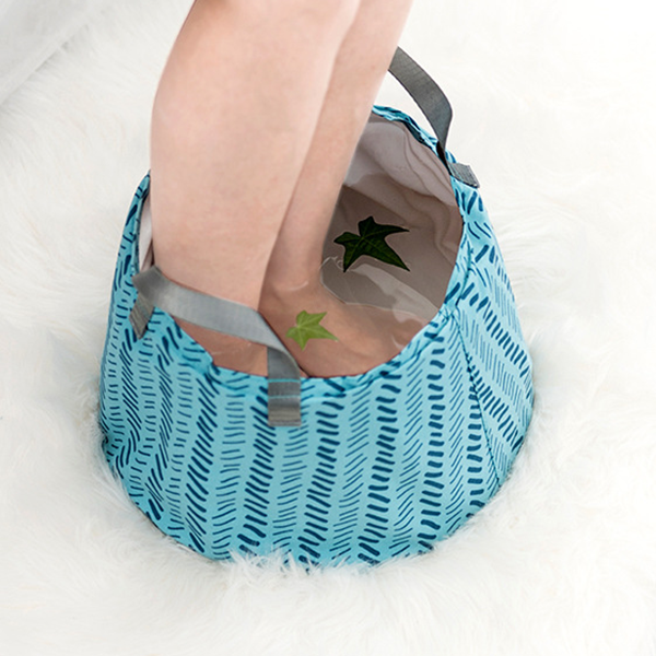 Foldable Waterproof Pedicure Canvas Bucket