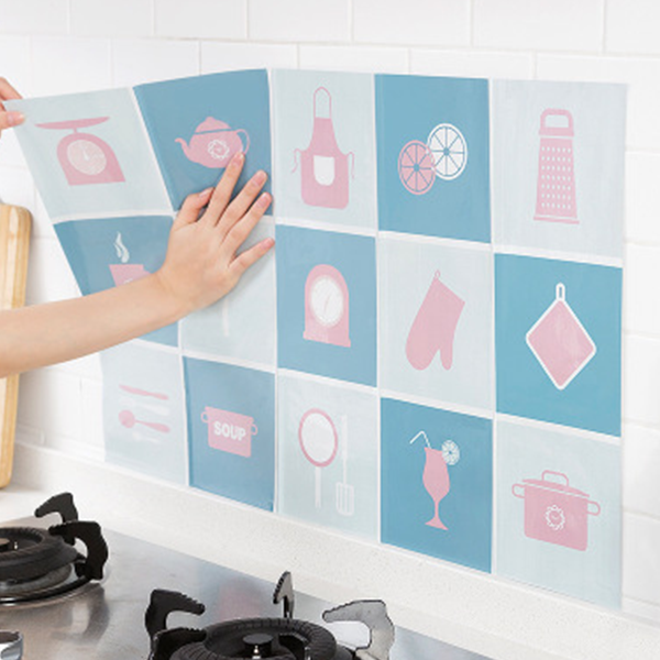 Temperature And Oil Resistant Kitchen Wall Sticker