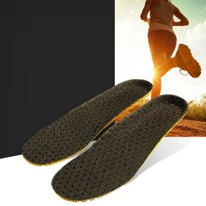 Beehive Breathable Easy Slip On Shoe Insole - Black