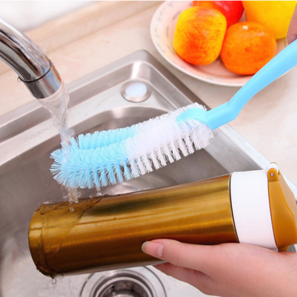 Multipurpose Cups Cleaner Soft Hair Brush Stick