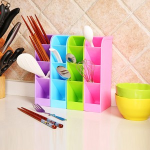 Multipurpose Smart Divider Storage Box - Multicolors
