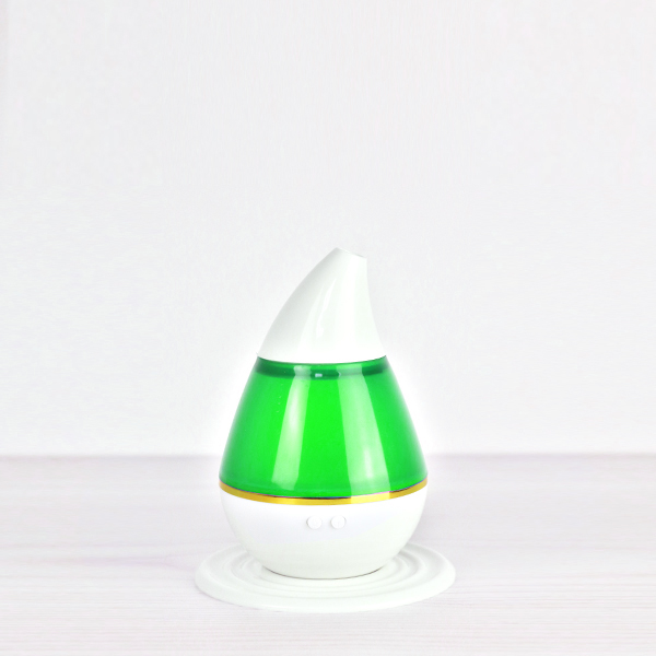 LED Pure Breathe Leaf Shape Air Humidifier - Green