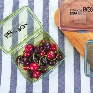 High Quality Plastic Food Storage Lunch Box - Green