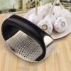 Handheld Stainless Steel Manual Garlic Crusher