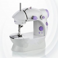 Multifunction Household Mini Sewing Machine - White