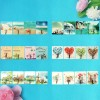 Multicolor Cartoon Prints Wall Sticking Hooks - One Piece